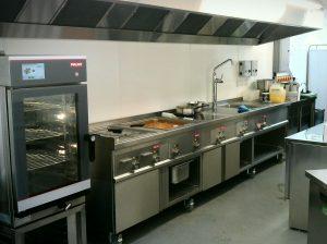 Cách đặt hướng bếp công nghiệp phong thủy